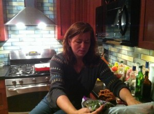 Kathy in her Kitchen