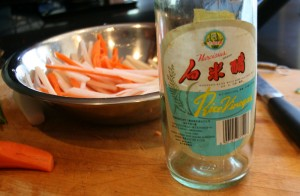 Daikon & Carrot pickle