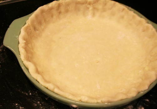 Pie Crust with Lard Uncooked
