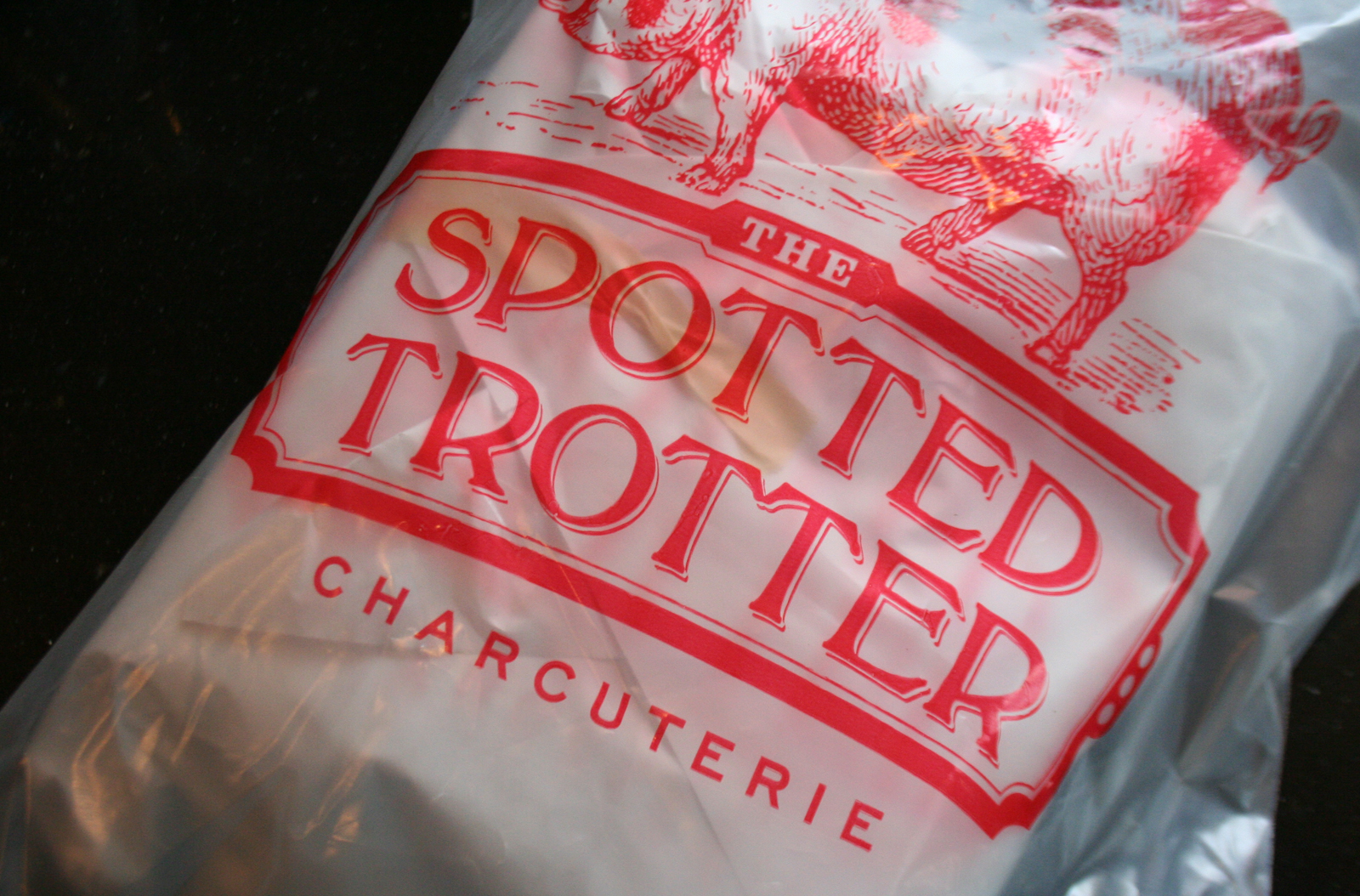 Pork fat from the Spotted Trotter charcuterie