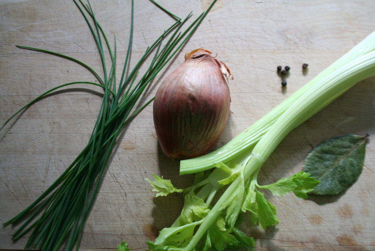 Chives Shallot and Celery