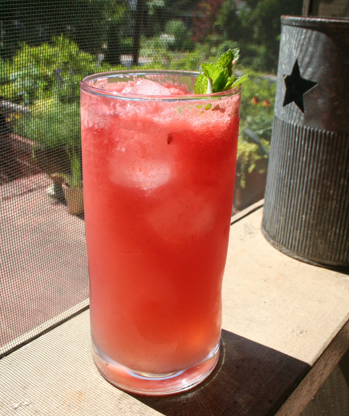 WatermelonCoolerTall Watermelon Vodka Cooler   a Summer Solstice cocktail