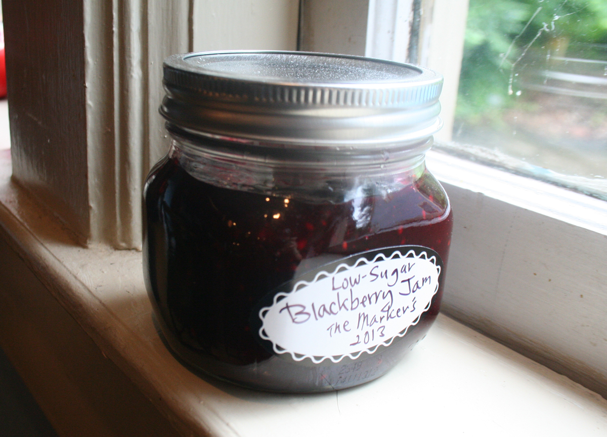FinishedJam Low Sugar Blackberry Jam