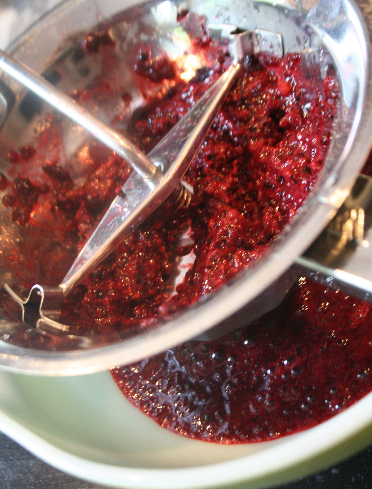 FoodMillPulp Low Sugar Blackberry Jam