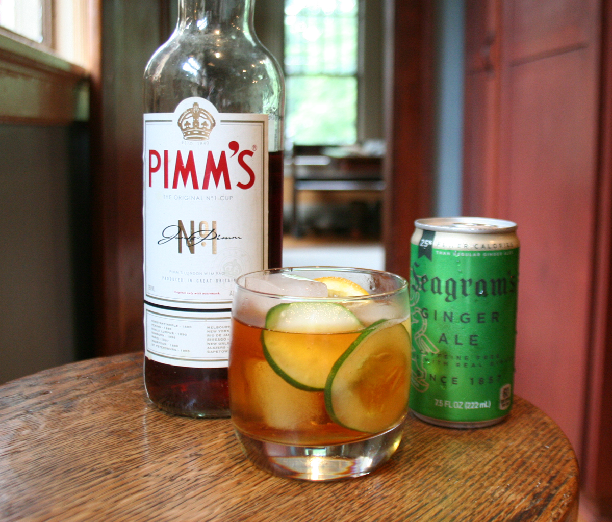 Pimm's No.1 & Ginger Ale