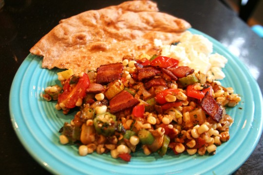 Southern Summer Vegetable Succotash