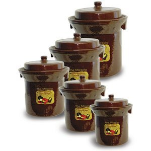 Fermentation Crocks for homemade sauerkraut