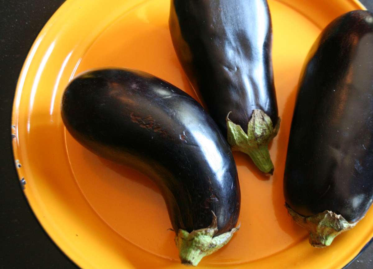Eggplants Italian Pickled Eggplant