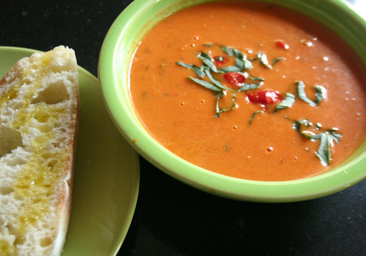 Creamy Thai Tomato Coconut Soup