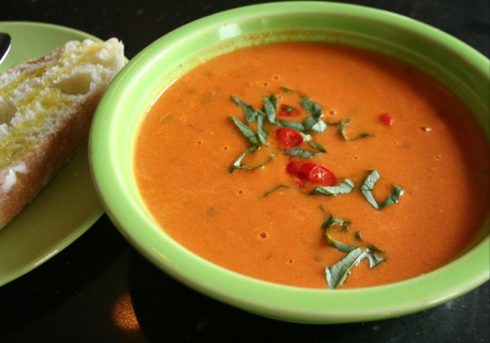 Thai Tomato Coconut Soup