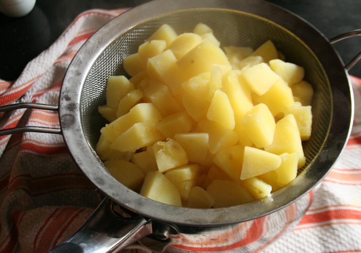 Cooked Yukon Gold Potatoes