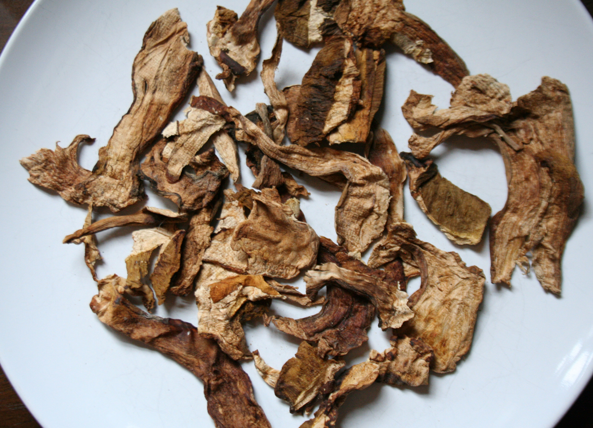 DriedPorcini2 Porcini Mushroom Barley Soup