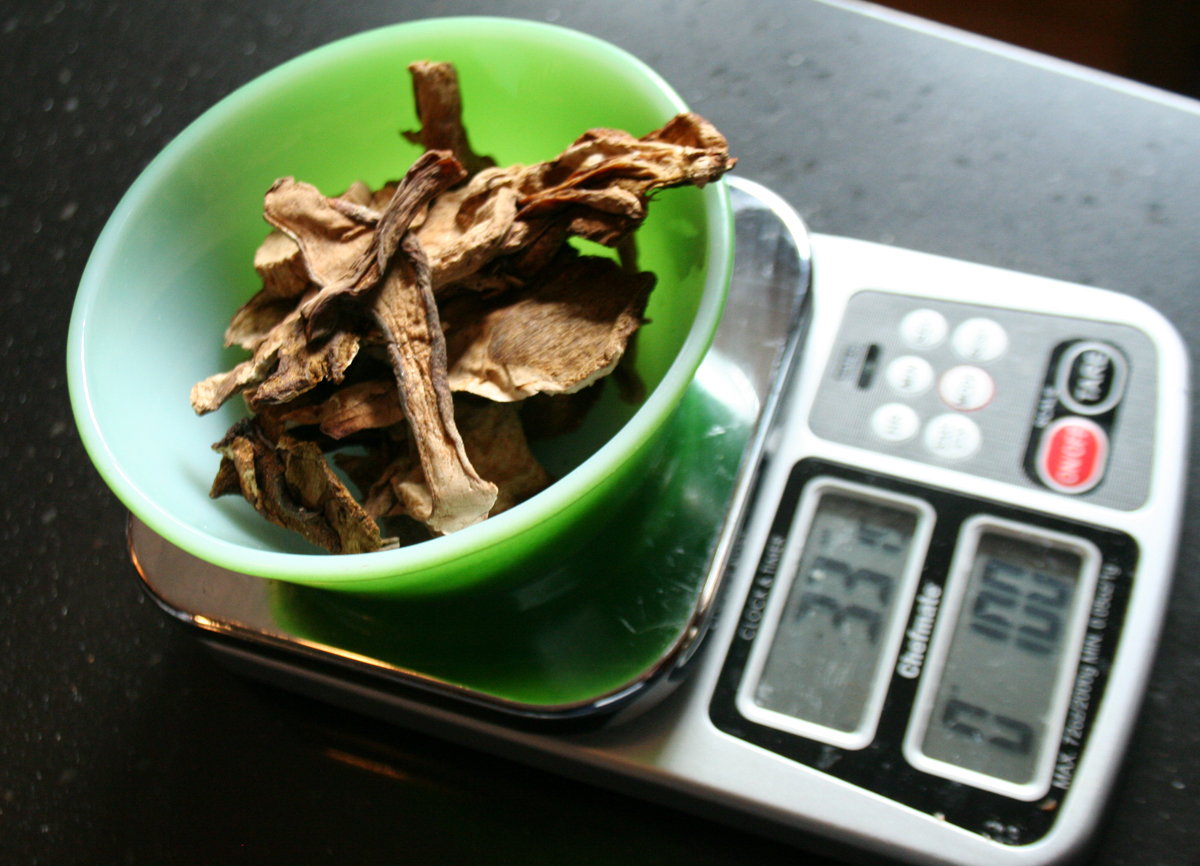 MeasuringMushrooms Porcini Mushroom Barley Soup