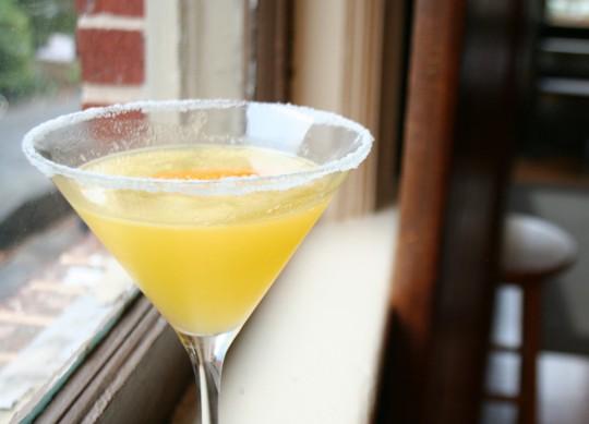 Tangerine Drop Martini