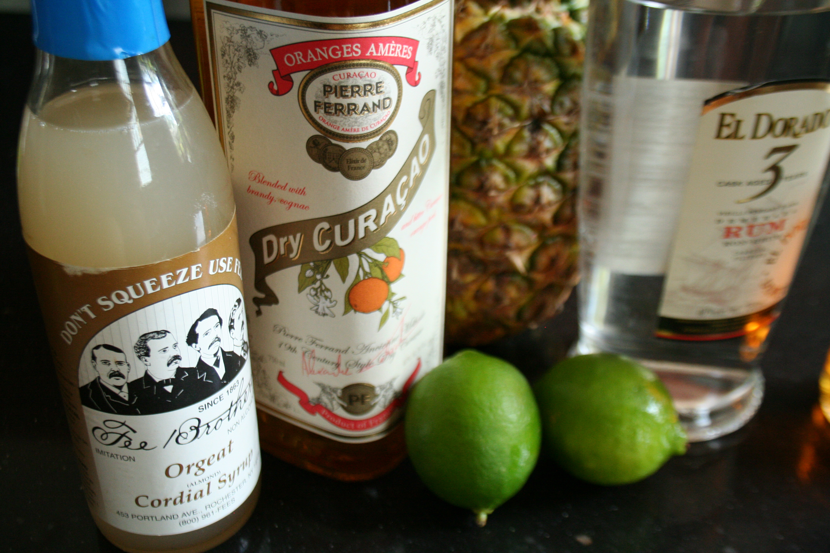 MaiTaiIngredients Mai Tai cocktail   the classic Tiki drink