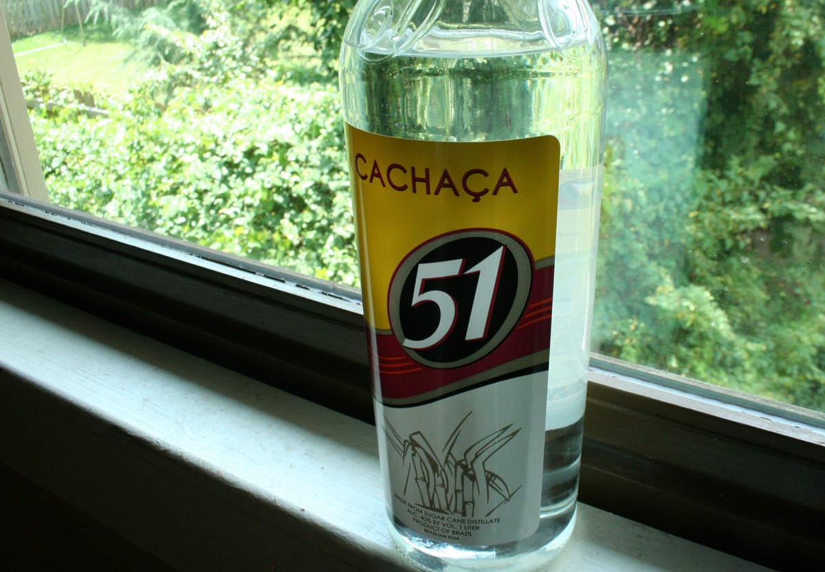Cachaça - the most popular spirit in Brazil