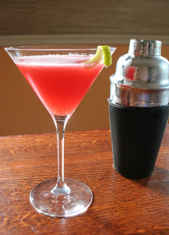 Ruby Red Martini