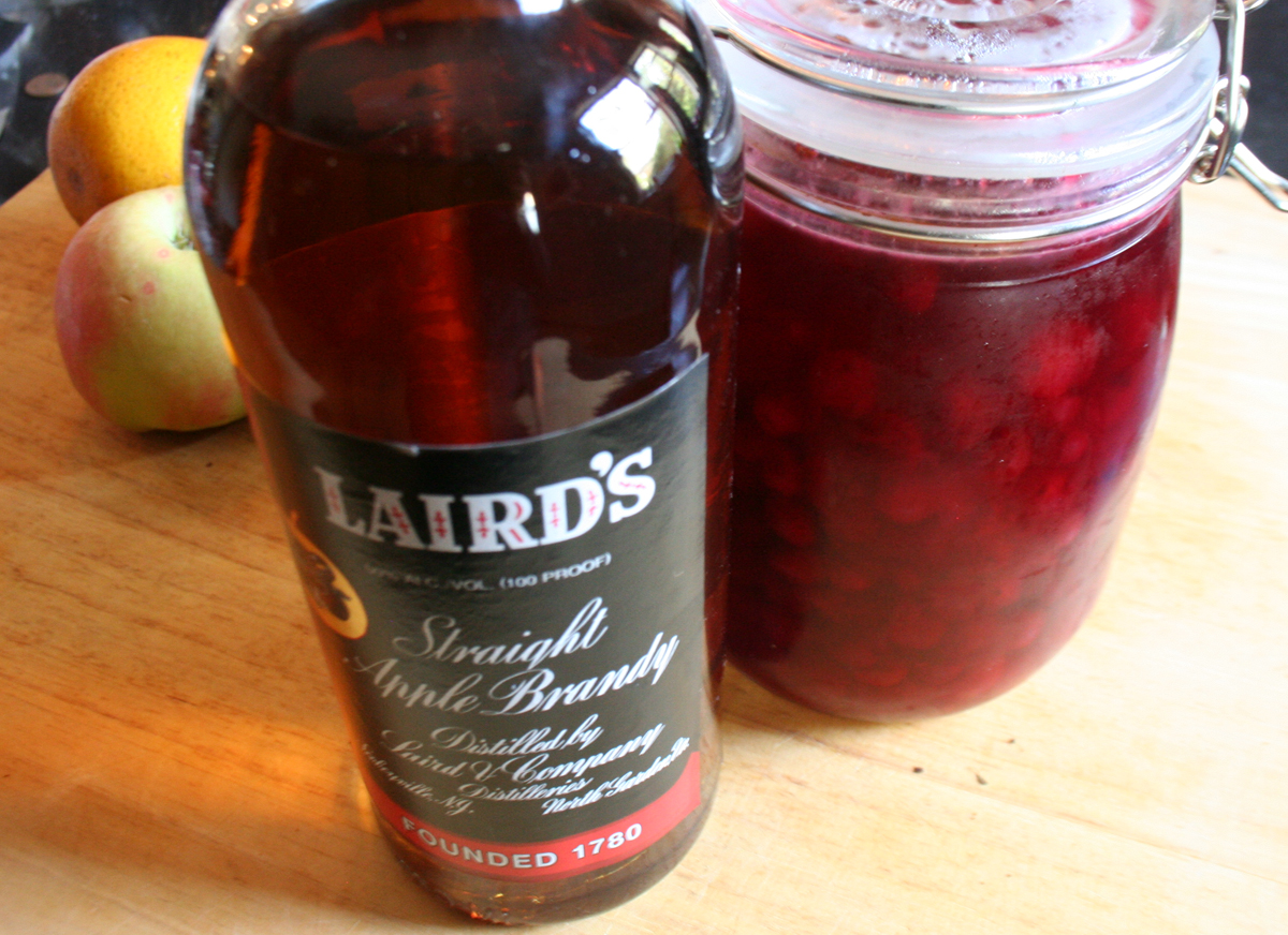 Laird's Apple Brandy & Cranberry Shrub